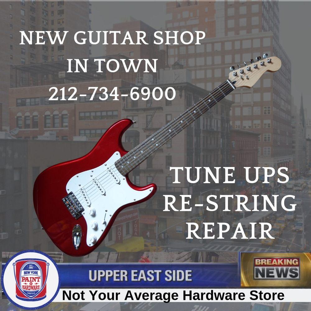 Brothers Guitars Shop - Repair & Maintenance: 1668 1st Ave, New York, NY