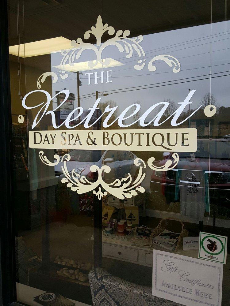 The Retreat Day Spa & Boutique: 502 East Tuscaloosa St, Florence, AL