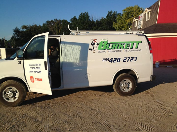 Burkett HVAC-R Service: 5360 Red Arrow Hwy, Stevensville, MI