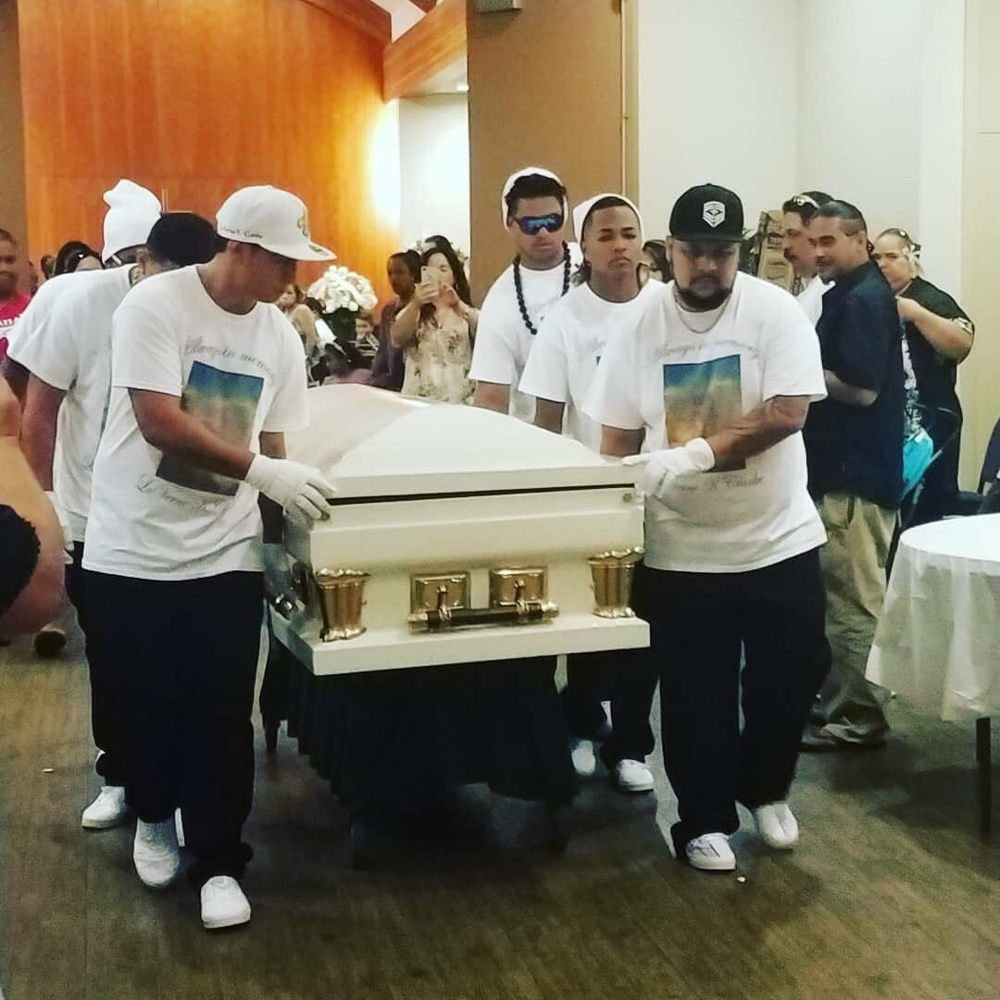 ballard's family mortuary was the best place to say farewell to