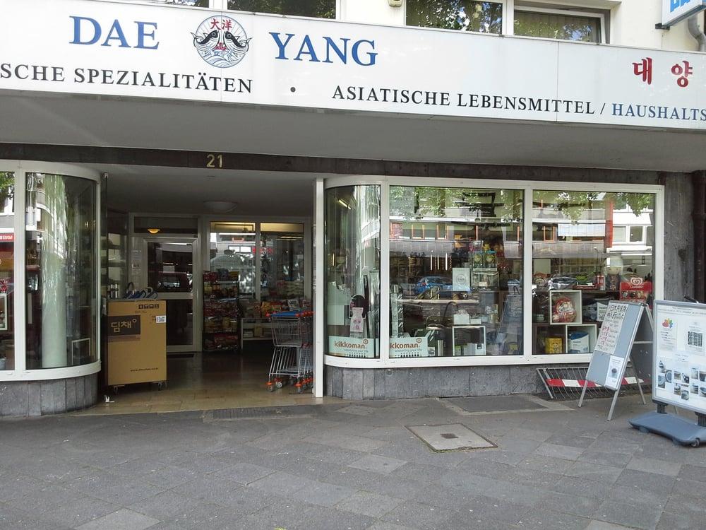 Asiatische Supermärkte/ Lebensmittel Läden in Deutschland