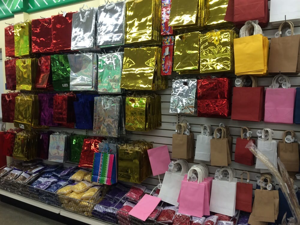 Photo Of Dollar Tree Pleasanton Ca United States Gift Bags Wring