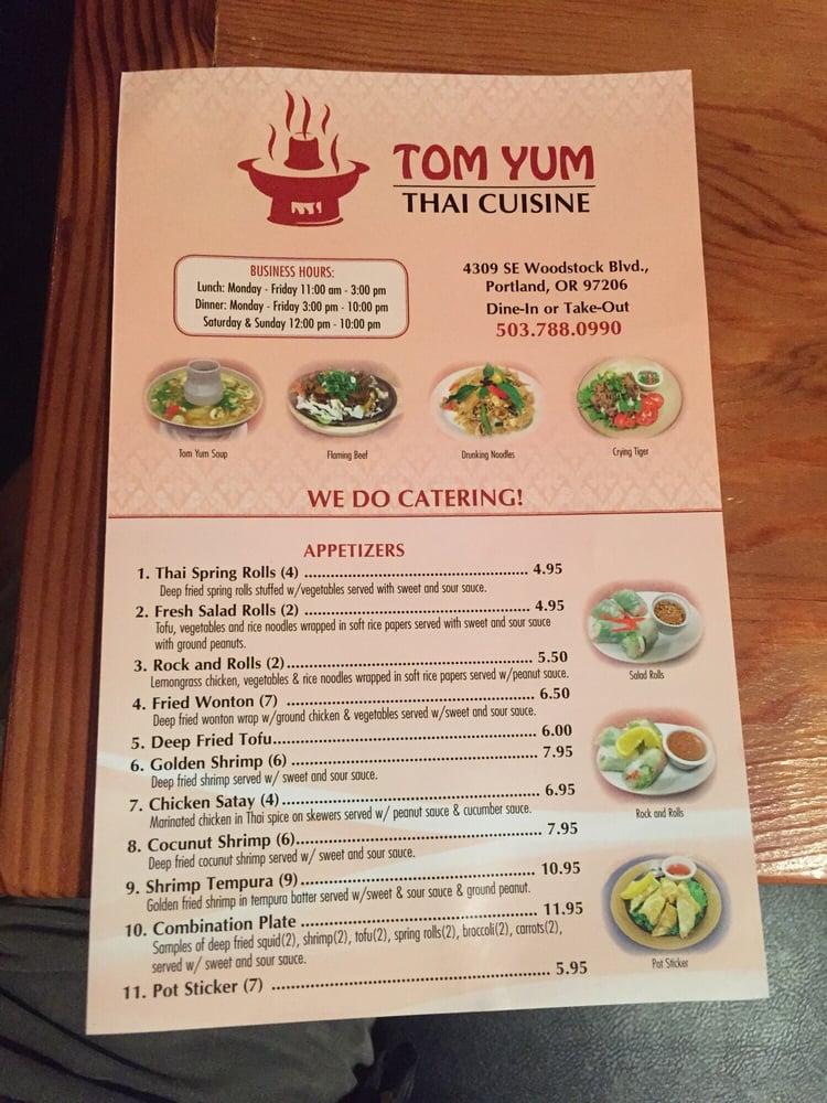 Photos for tom yum thai cuisine yelp for Authentic thai cuisine portland or