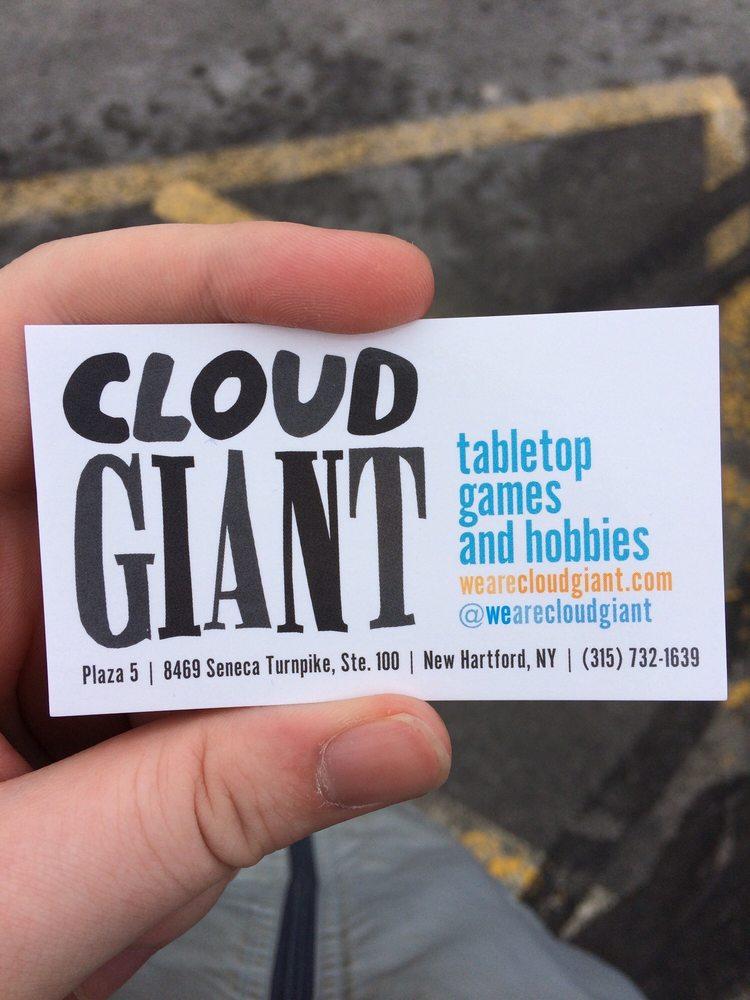 Cloud Giant: 8469 Seneca Turnpike, New Hartford, NY