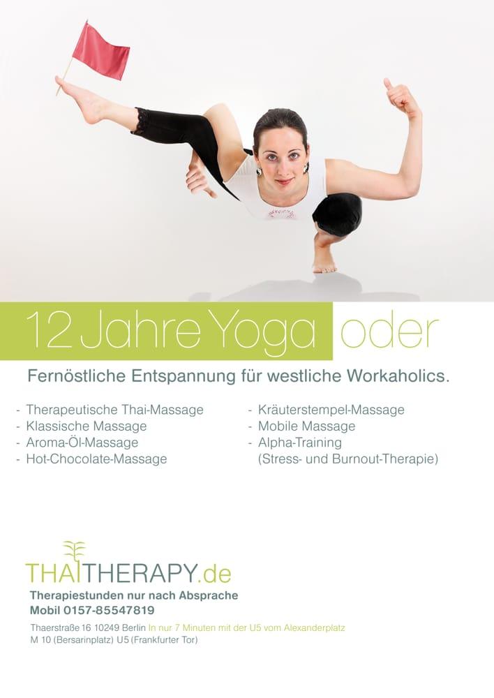 thai therapy massage thaerstr 16 friedrichshain. Black Bedroom Furniture Sets. Home Design Ideas