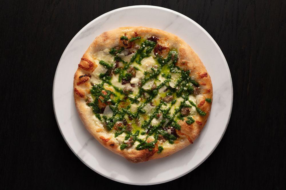 Mootz Pizzeria + Bar: 1230 Library St, Detroit, MI