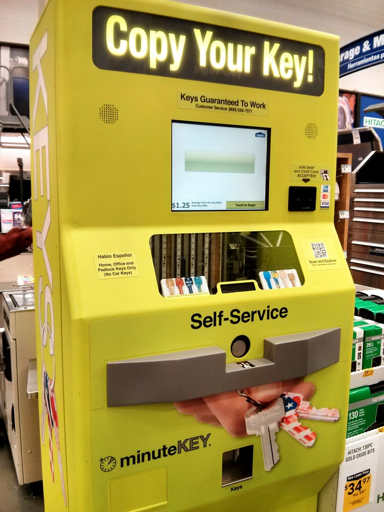 Self-service key maker  - Yelp