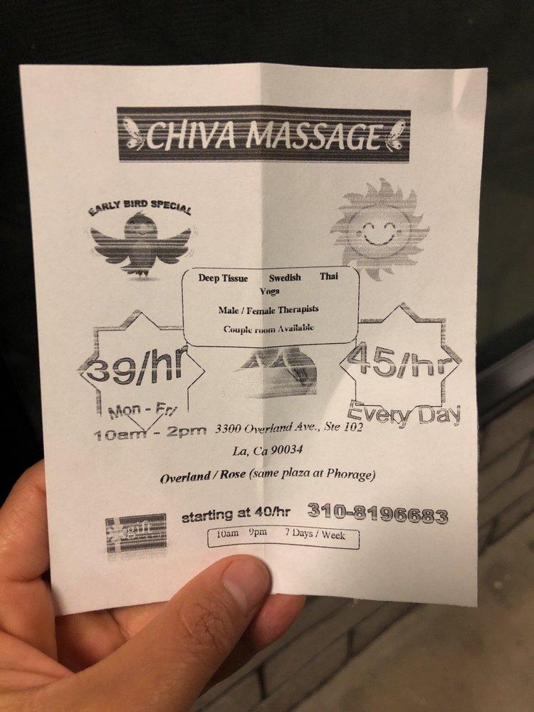 Chiva Massage