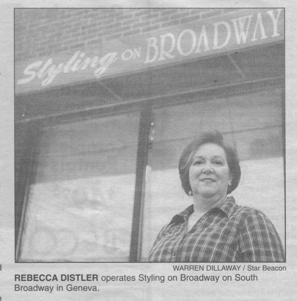 Styling on Broadway: 152 South Broadway, Geneva, OH