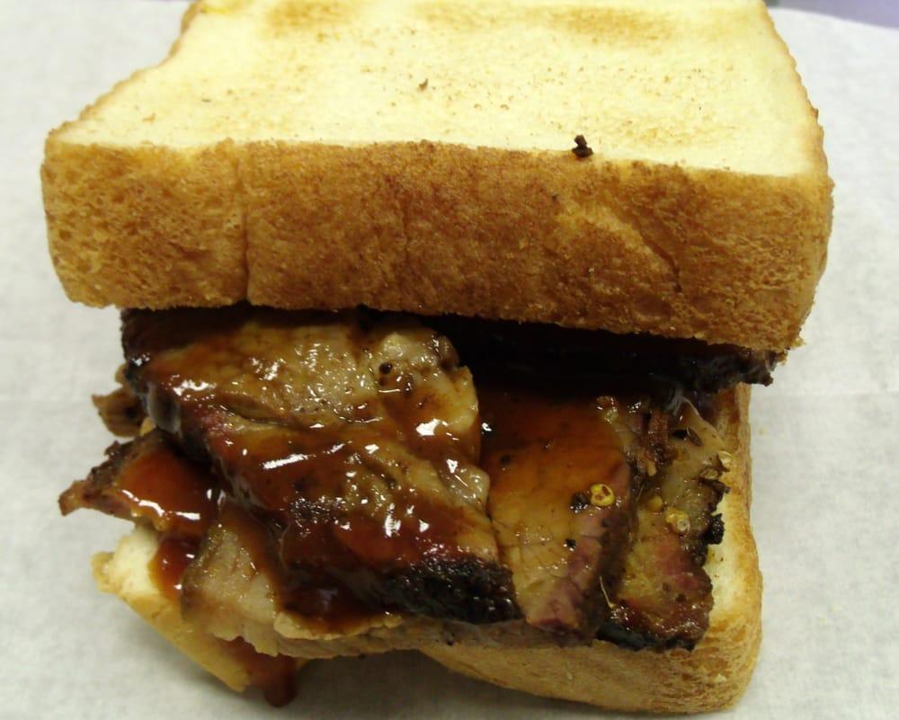 Smoked Beef Brisket On Texas Toast Yelp