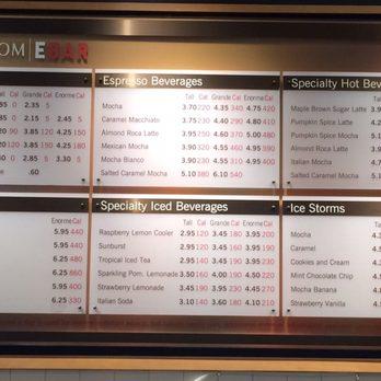 Nordstrom Cafe Menu Tysons