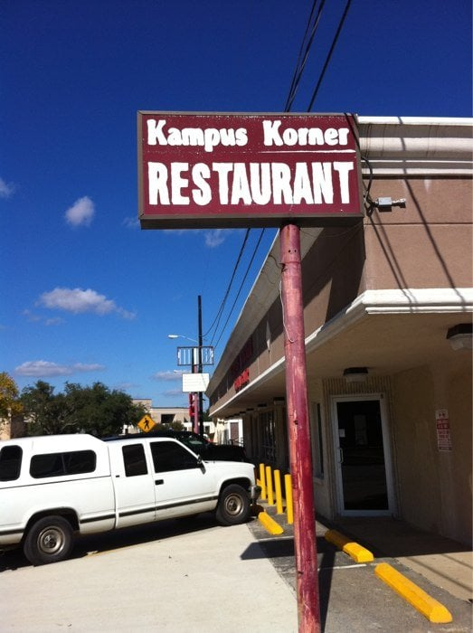 Kampus Korner Restaurant: 4637 Rolfe Christopher Dr, Beaumont, TX