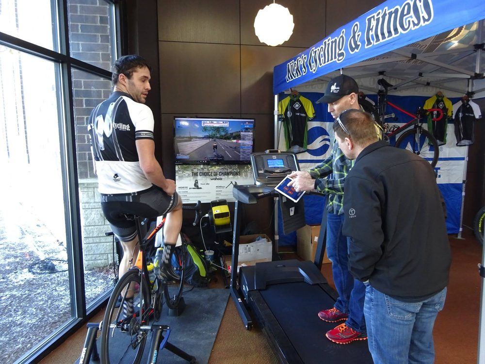 Nick's Cycling & Fitness: 203 W Agency Rd, West Burlington, IA