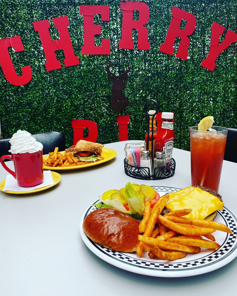 Food from Cherry Pit Cafe