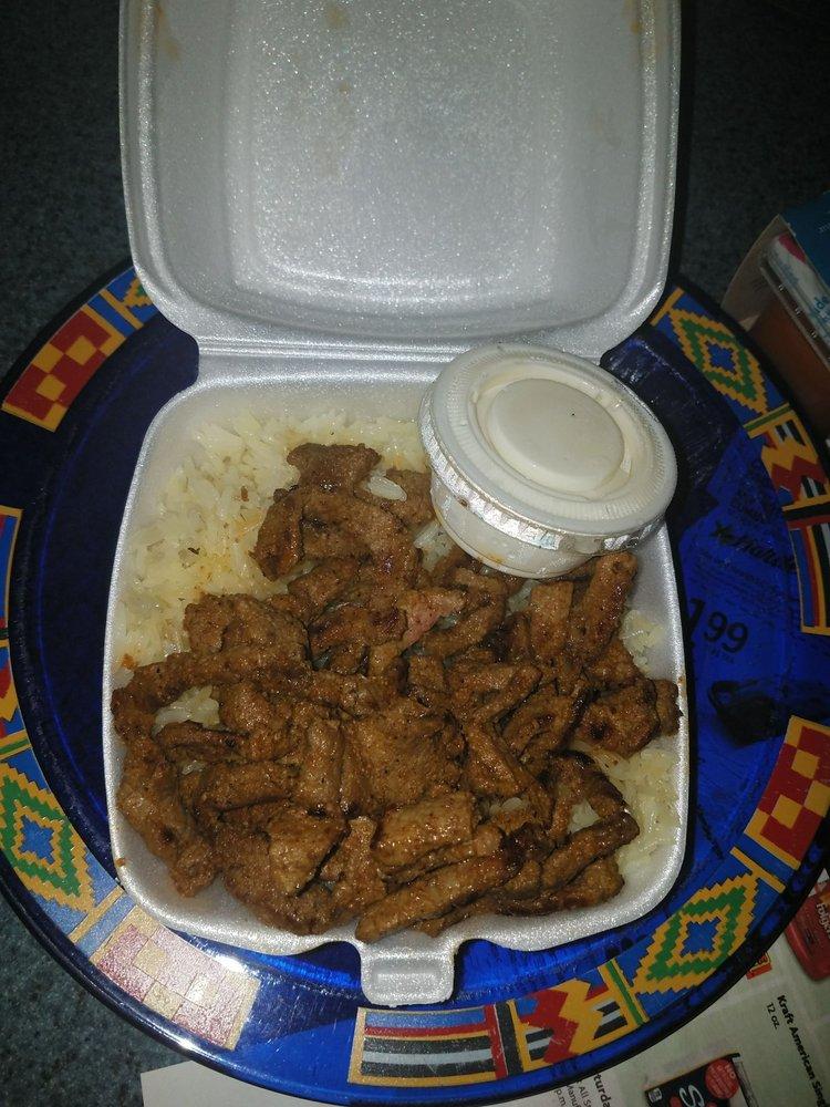Food from Dari Kabab & Gyro