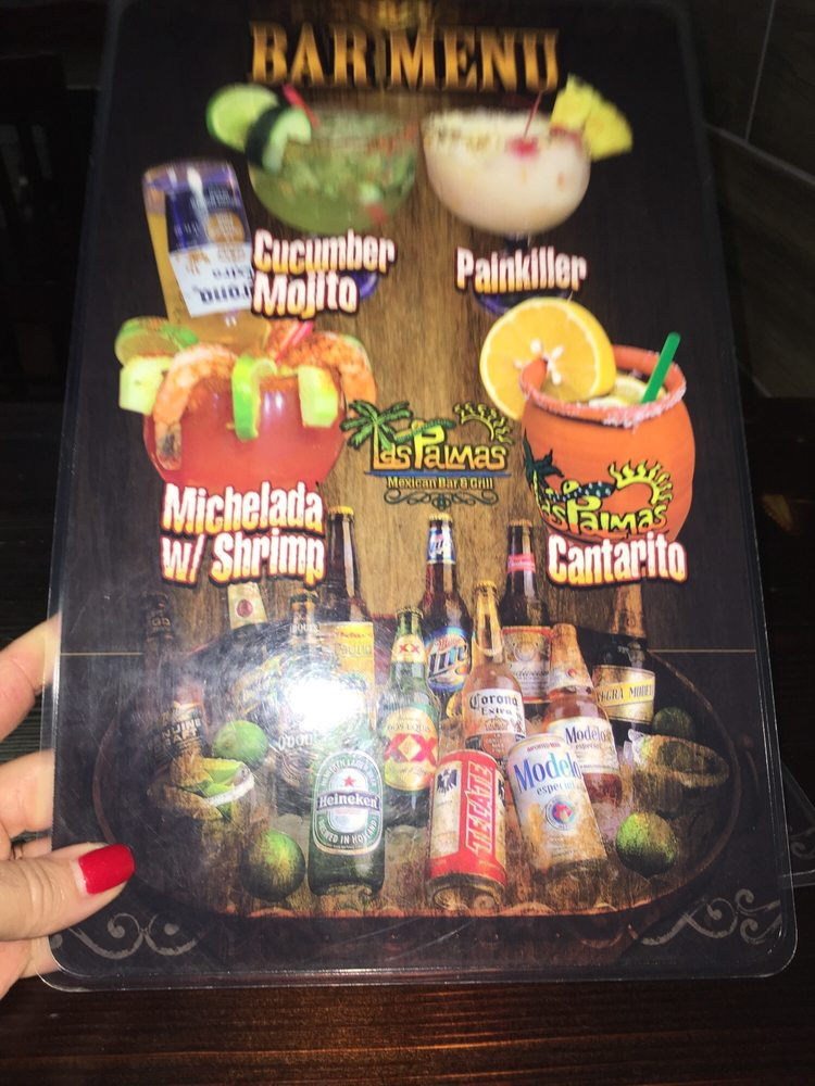 Food from Las Palmas Mexican Bar & Grill