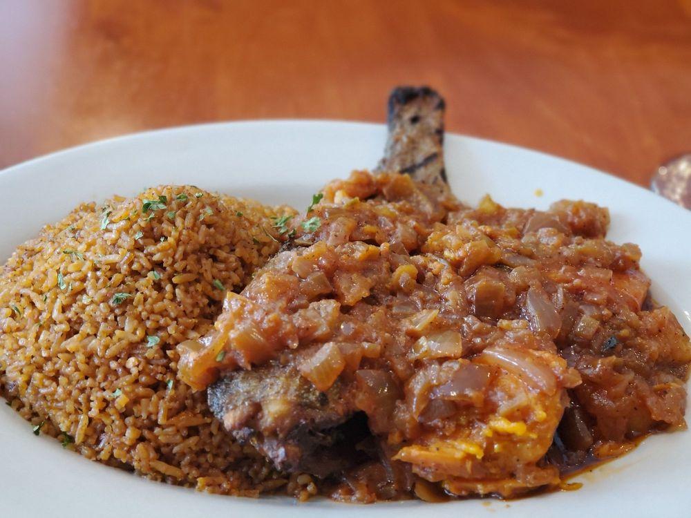 Food from Mansa Kunda Restaurant