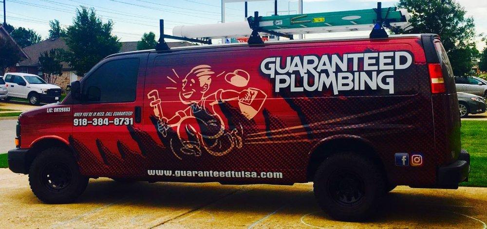 Guaranteed Plumbing: Tulsa, OK