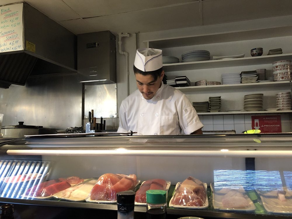 The owner  3rd generation of Japanese sushi chefs  - Yelp