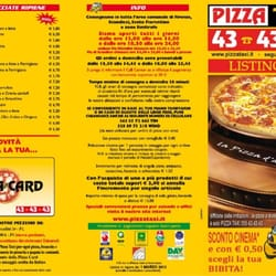 Pizzataxi menu