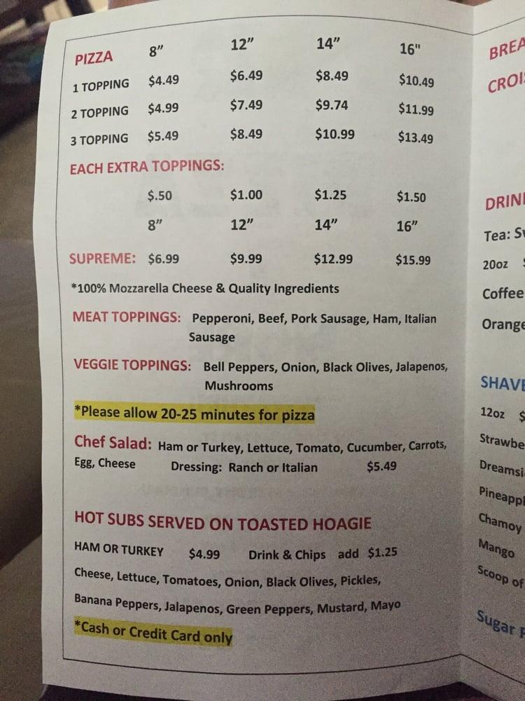 MR Pizza N More: 112 Aransas Pass St, Alice, TX
