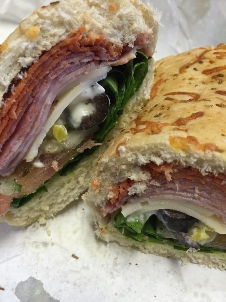 Menu For Olive Garden: Italian BMT On Italian Herb & Cheese Bread