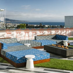 Photo Of Hotel Hermosa Beach Ca United States The Yard With