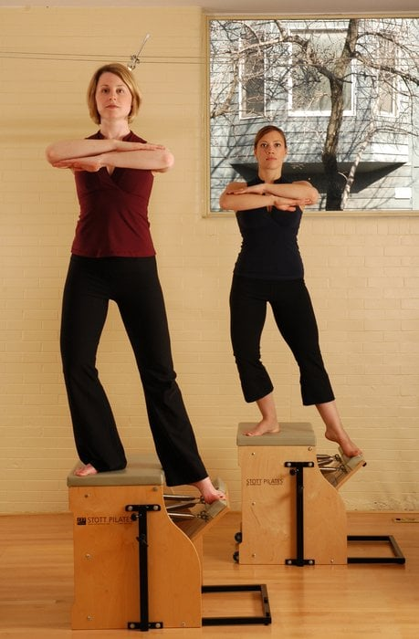 STOTT PILATES Stability Chair Workout Yelp