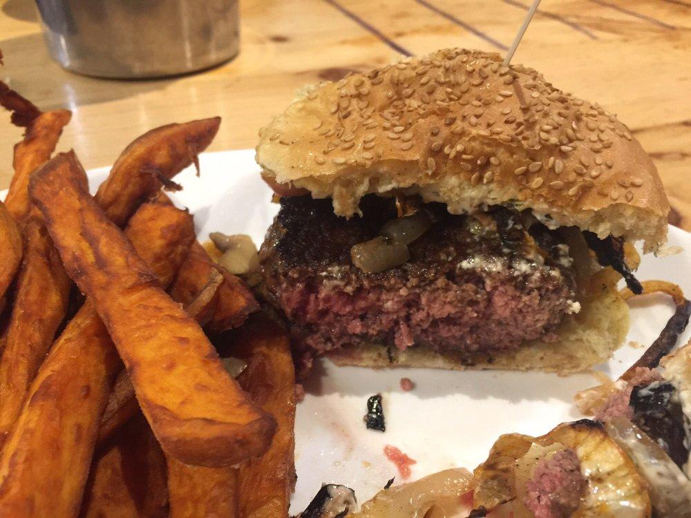 Mr. Bartley's Gourmet Burgers: 1246 Massachusetts Ave, Cambridge, MA