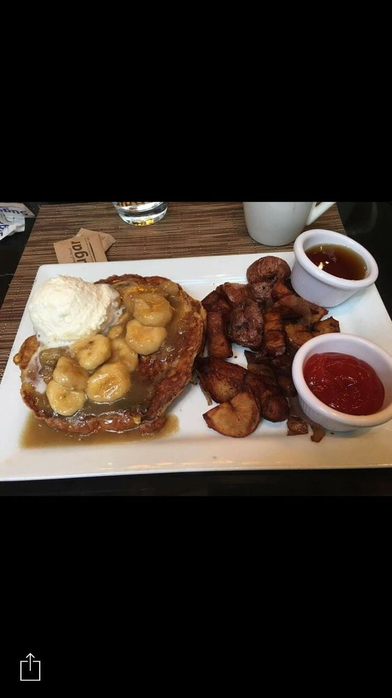 Remarkable Griddled Cross Isnt French Toast With Bananas Foster Yelp Download Free Architecture Designs Grimeyleaguecom