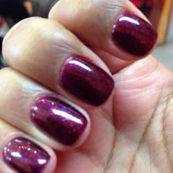 Gel polish nails vancouver