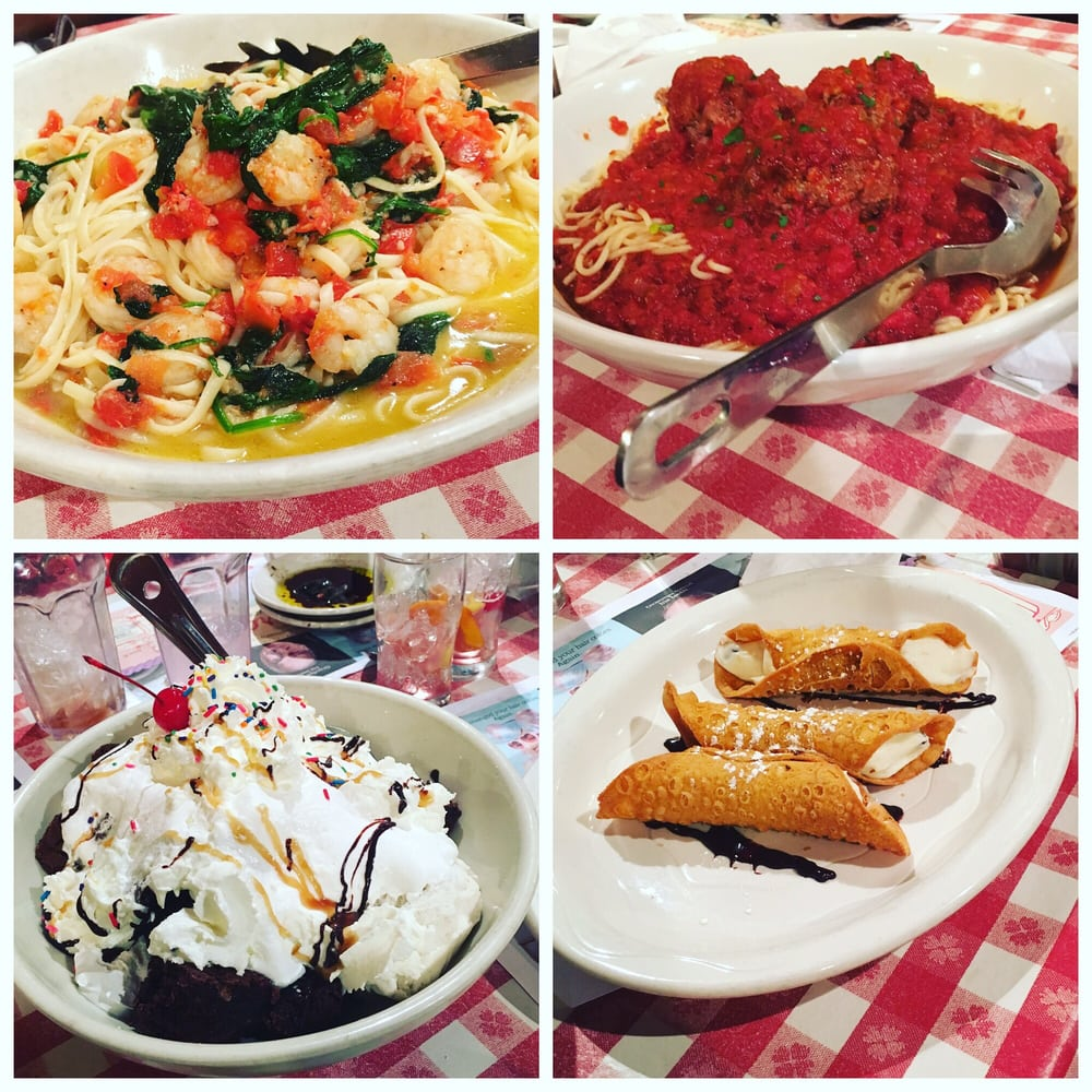 Italian Restaurant In Peoria: Portion Out Of Control! Sharing Is Caring!
