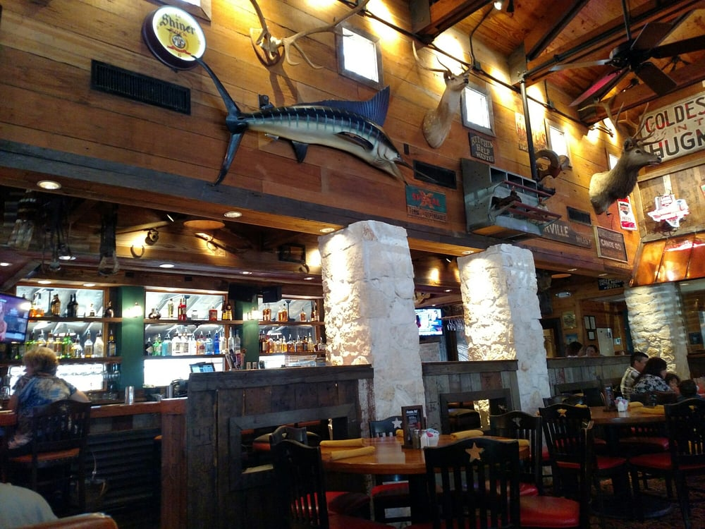 Inside The Saltgrass Steak House In Webster Texas Yelp