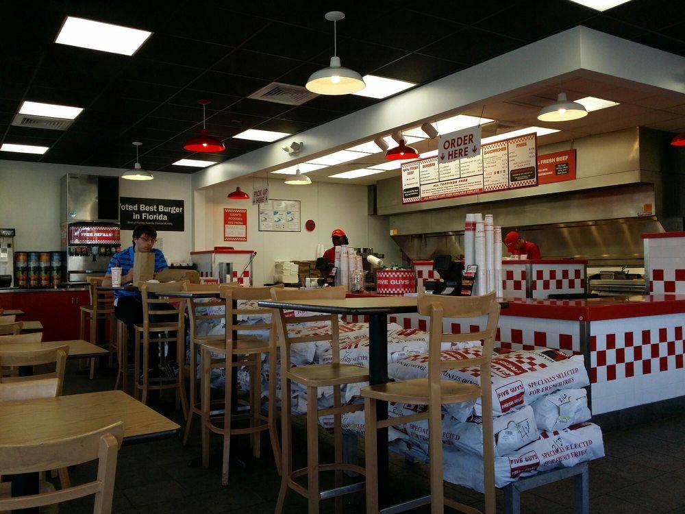 Five Guys Burgers Daytona Beach Fl