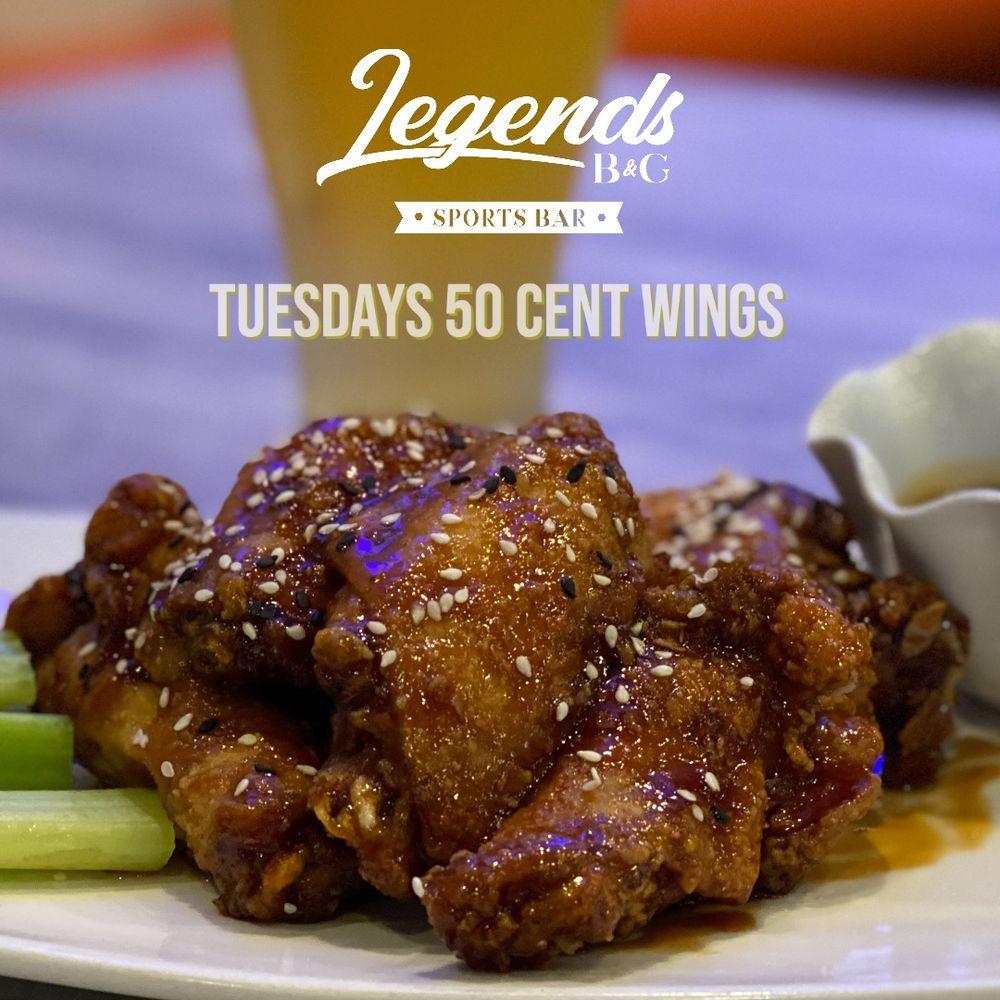Legends B&G Sports Bar: 8955 Tamiami Trl N, Naples, FL