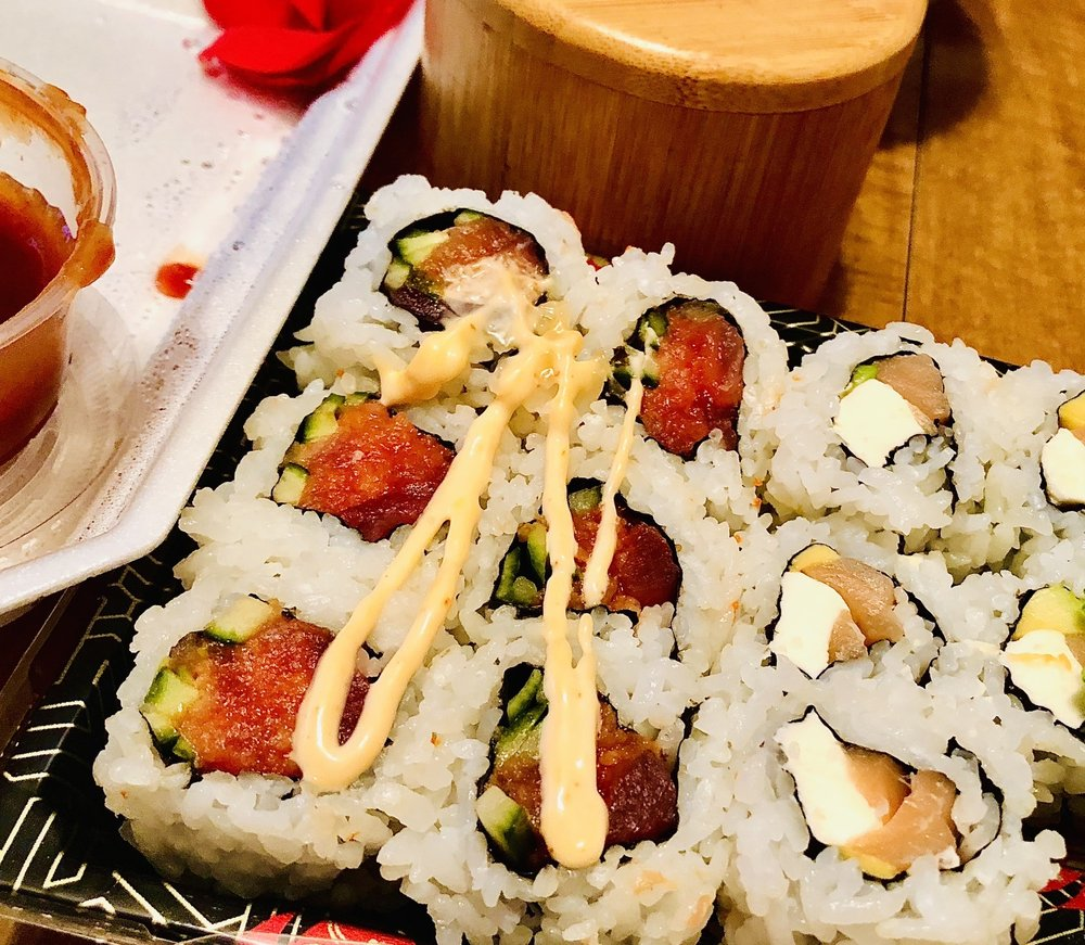Food from Sushi Jako