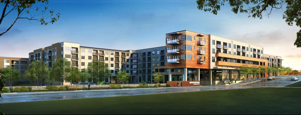 Tree is a 336-unit Vertical Mixed Use project located at 3715 South