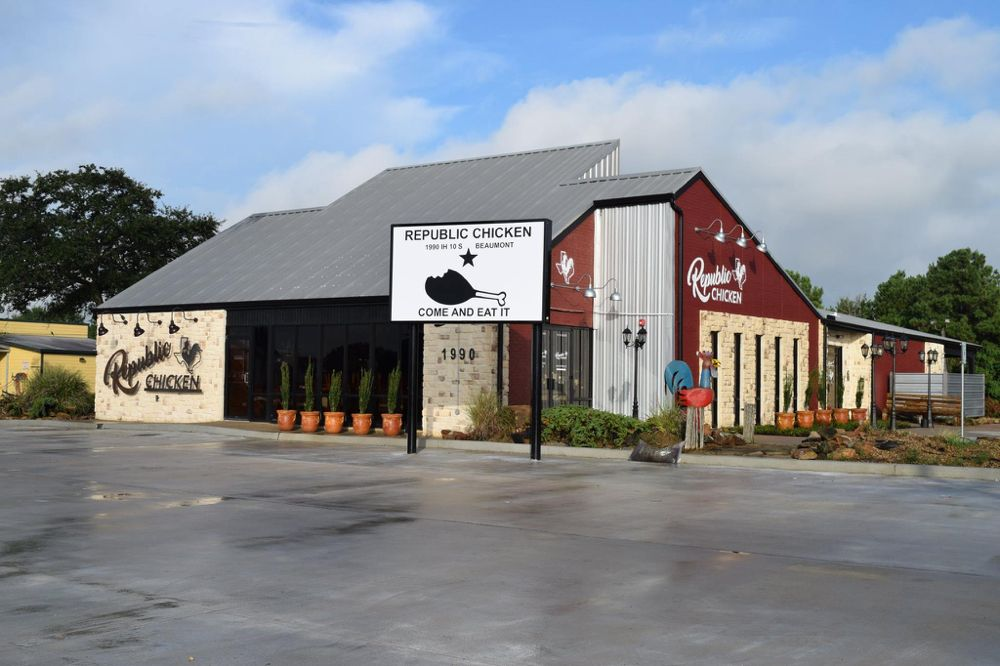 Republic Chicken: 1990 IH 10 Access Rd, Beaumont, TX