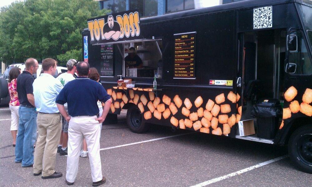 Tot Boss Food Truck Minneapolis