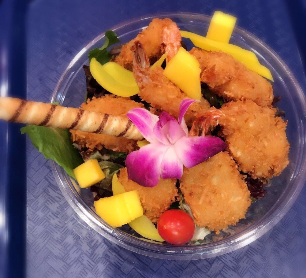 Poke Bowl Coconut Shrimp Yelp
