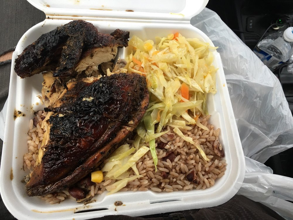Food from The Jerk Pit