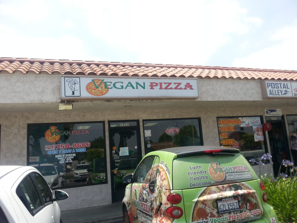 They Even Have A Vegan Pizza Delivery Smart Car Yelp