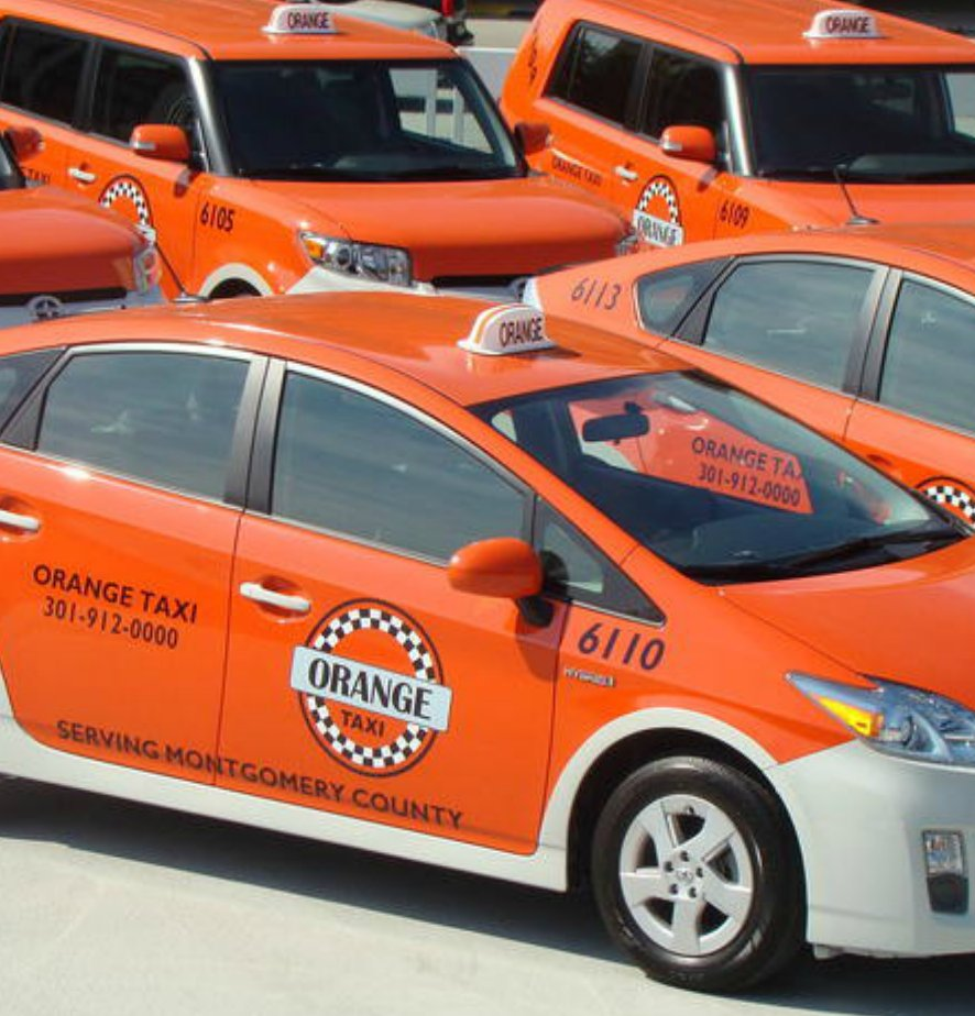 Orange Taxi - Montgomery County: 12270 Wilkins Ave, Rockville, MD