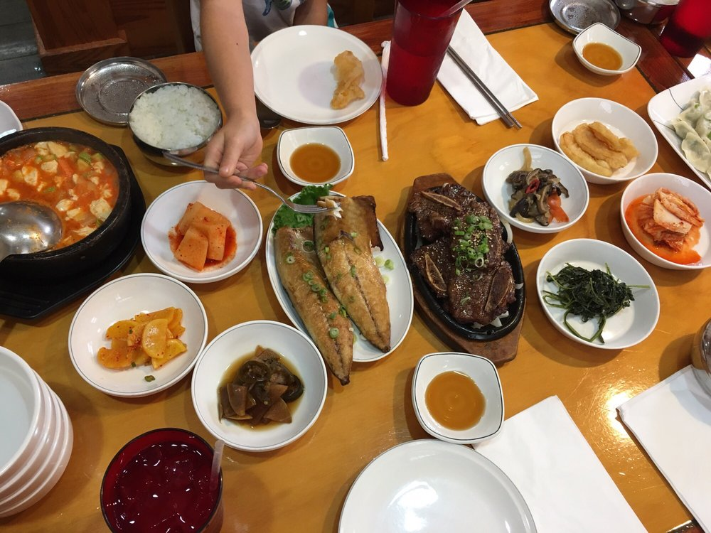 Food from Korean Bbq House
