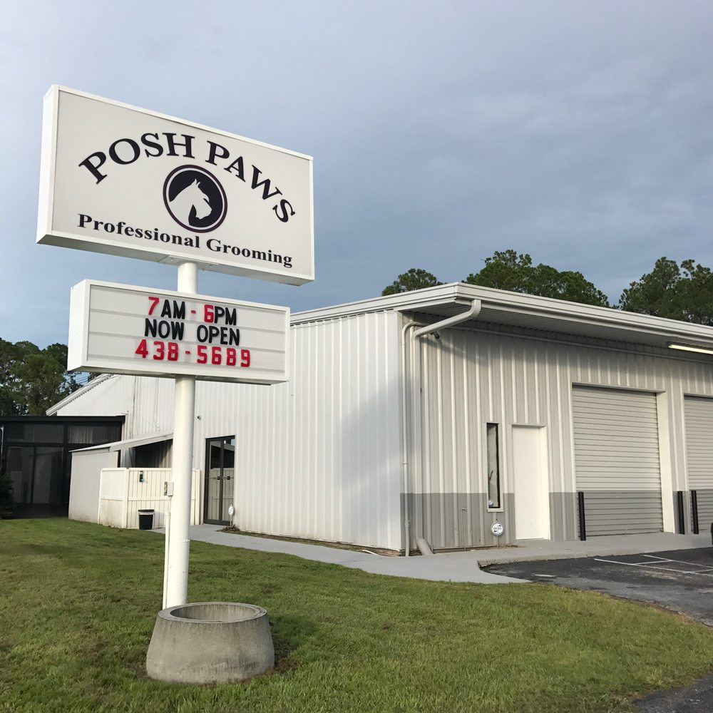 Posh Paws Professional Grooming: 757 SW State Rd 247, Lake City, FL