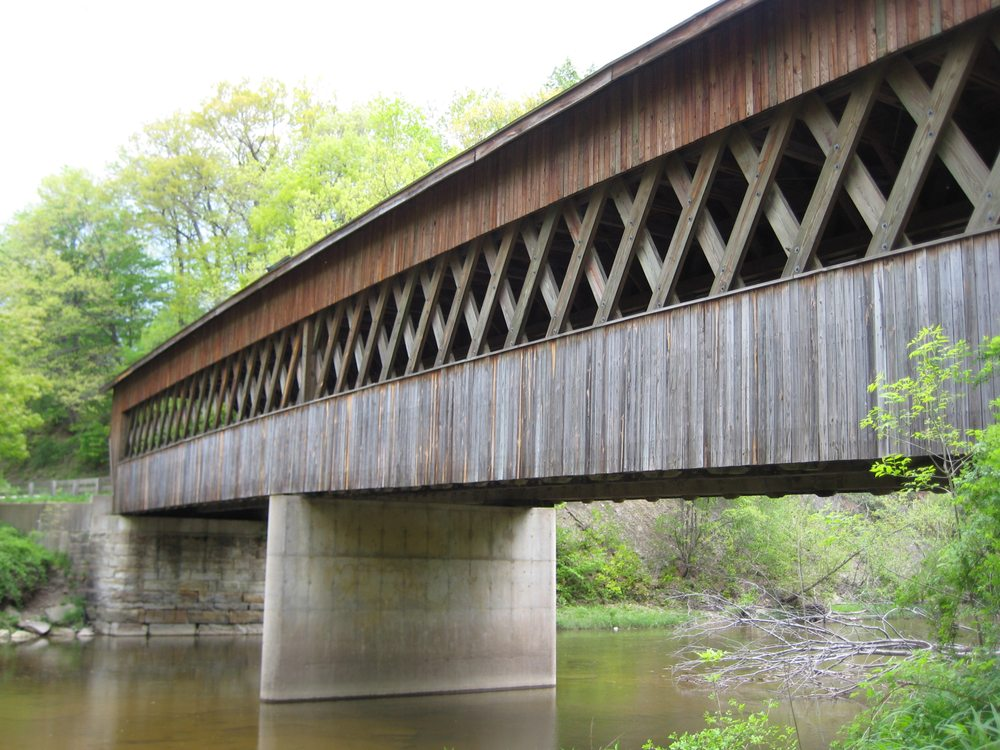 State Road Covered Bridge: State Rd, Kingsville, OH