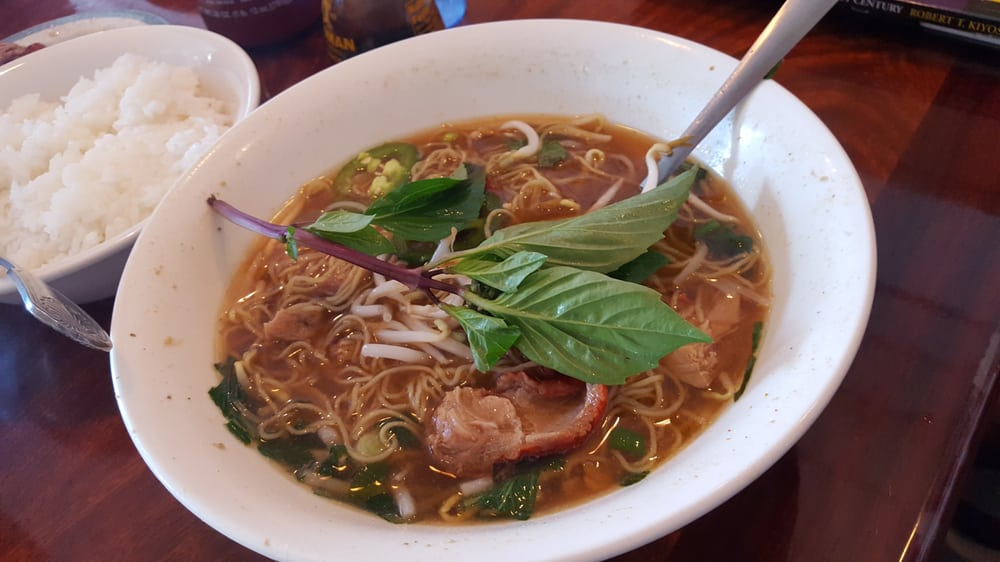 Duck pho- seriously the most flavorful pho broth I've ever had! - Yelp