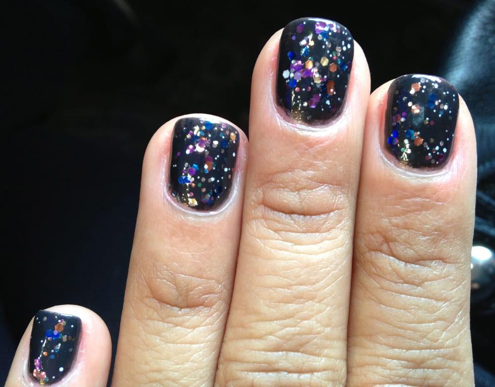 My regular nails, NO GEL NAILS HERE! Nicole rocks!! OPI Suzi Skis in ...