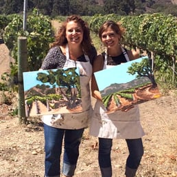 photo of gypsy studios vineyard painting art studio on wheels santa ynez