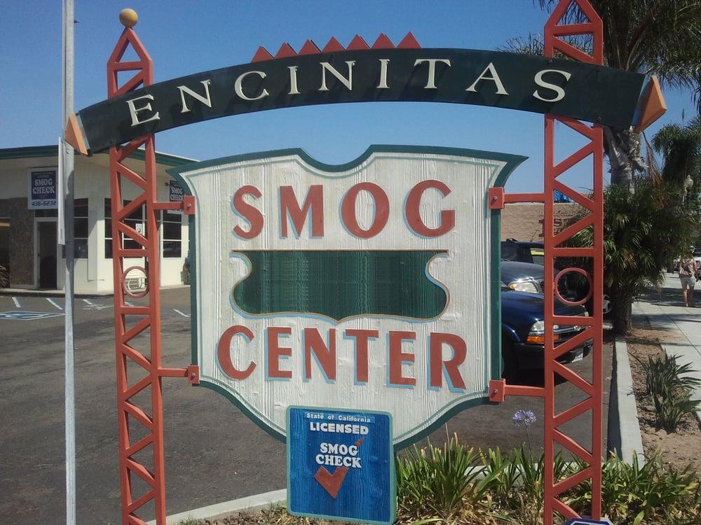 Encinitas Smog Center: 449 2nd St, Encinitas, CA